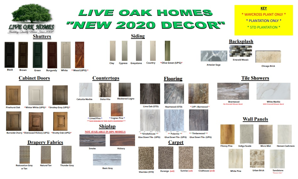 Live-Oak-Homes-Options